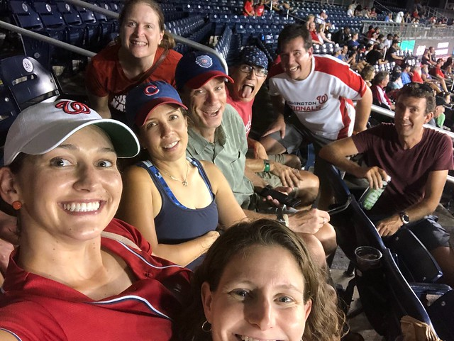 The DTB crew at Nats Park