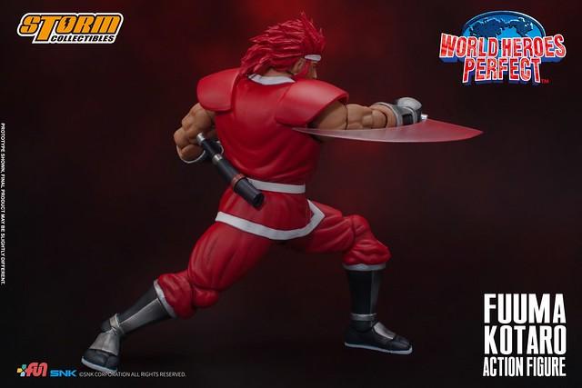 風魔忍者之最強代表!STORM COLLECTIBLES《世界英雄榜完美版》風魔小太郎(FUUMA KOTARO - WORLD HEROES PERFECT)