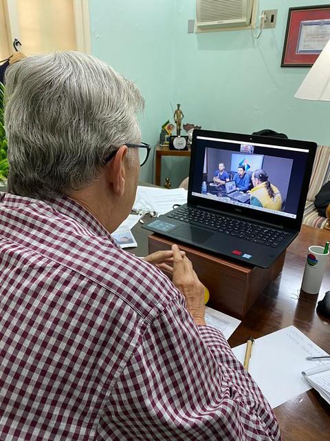 16/04/2020 Tele-reuniões e Entrevistas