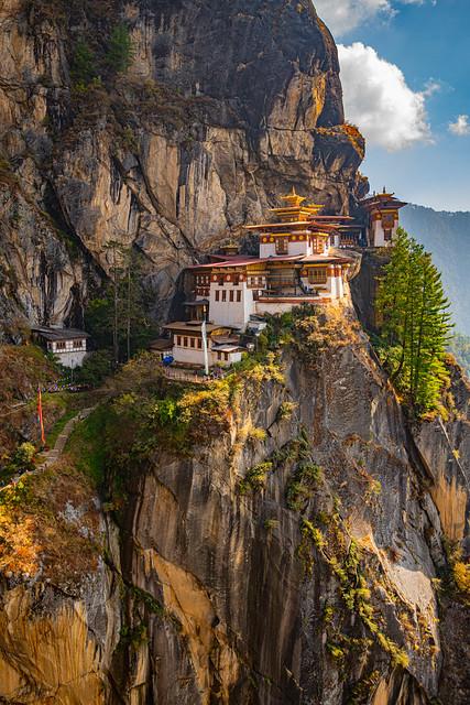 Paro Taktsang (Tiger's Nest), Paro, Bhutan