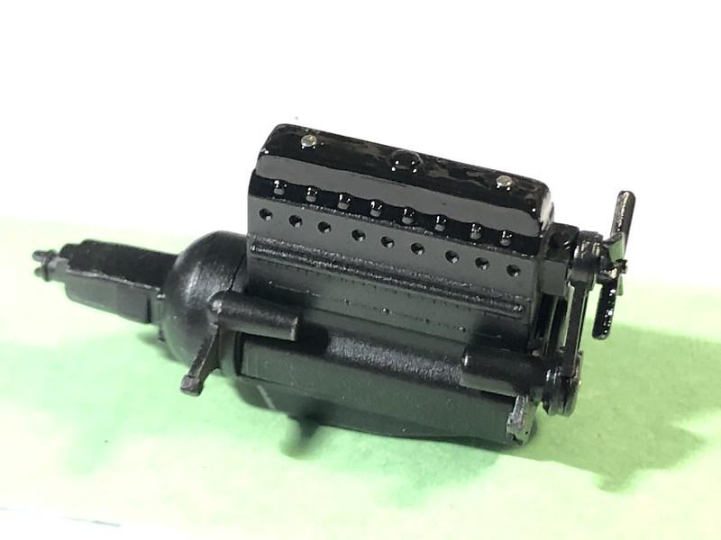 DELAHAYE Type 135 modèle 1938 ... Du scratch, du scratch, encore du scratch et toujours du scratch ! Réf 80707 49791773493_300335632c_c