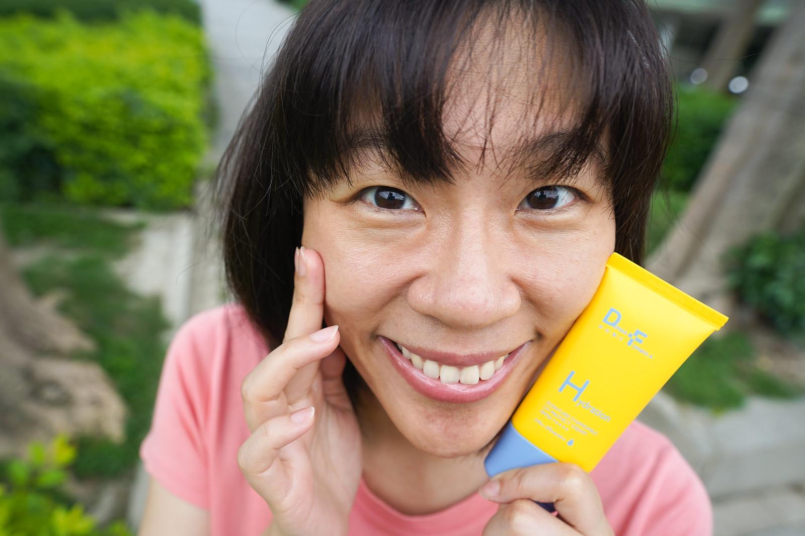 DF美肌醫生 白夏菊超修護防曬乳 使用好舒服