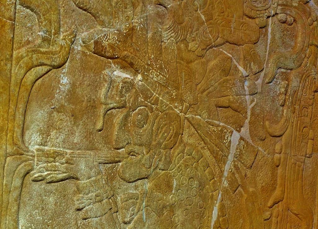 MEXICO, Chiapas,  Historisches Highlight - die Mayastätte Palenque , Relief,