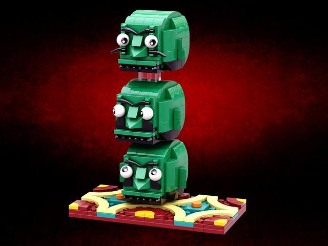 オイ... オイ... オイ...  #brickheadz #千と千尋の神隠し #宮崎駿 #荻野千尋 #chihiro #miyazakihayao #頭 #かしら #lego #legomocs #legomoc #legos #legobricks #bricks #legophoto #legoart #moc #legocreation #legostagram #legophotography #legography #legogram #brickstagram #legodesign #i