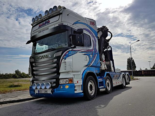 Scania R560 - Malmö LBC - Malkolm Johnsons Åkeri & Konsult AB - Ex. Aaltonen Åkeri