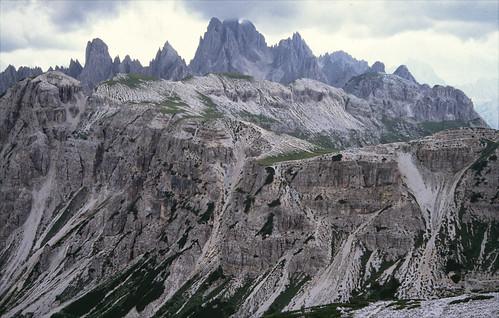Conos de deyección - Tre Cime di Lavaredo (Auronzo di Cadore, Italia) - 01