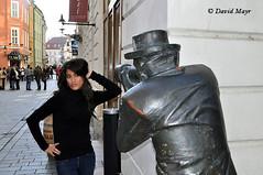 Latina woman Paparazzi Bratislava