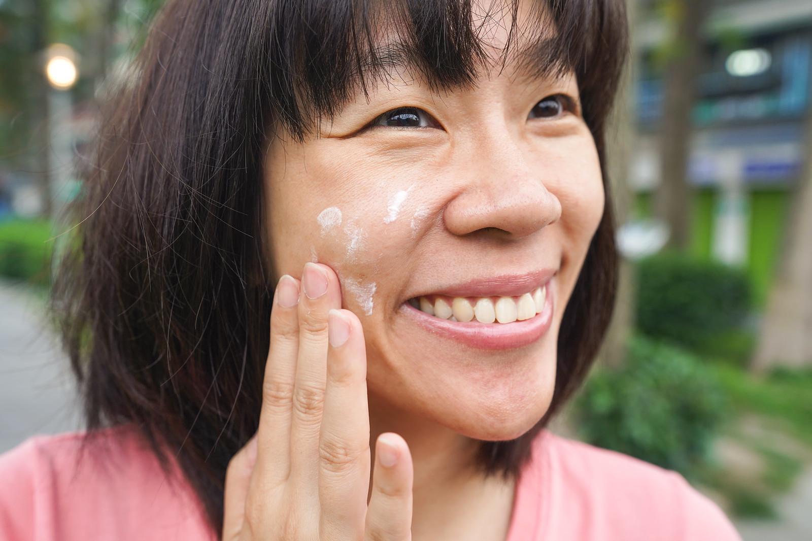 DF美肌醫生 白夏菊超修護防曬乳 使用狀況
