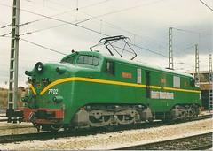 RENFE0092▲ Loc 7702, Dep. de Zaragoza-Delicias