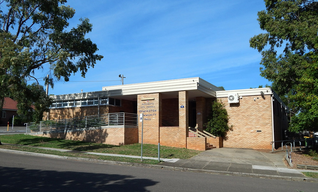 Community Hall, Ermington, Sydney, NSW.