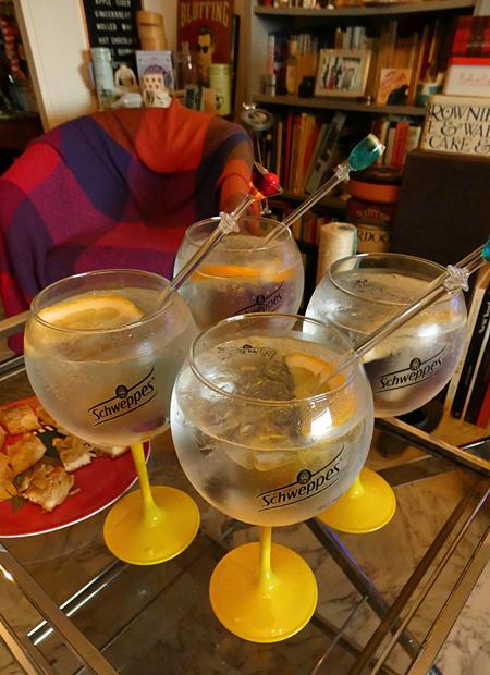 gin tonic Paulo
