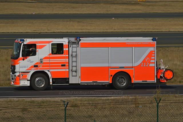 Frankfurt Airport Fire truck