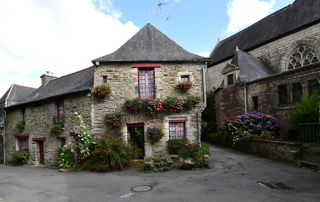 Malestroit, Bretagne, France August_2019_292