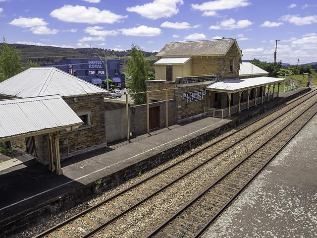 Old Wallerawang Junction Railway Station - built 1870 - see below