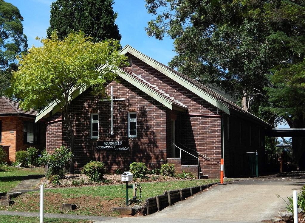 Community Church, Marsfield, Sydney, NSW.