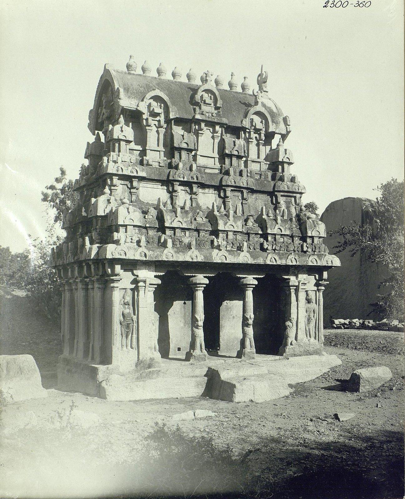 02. Мамаллапур (внешний вид храма).