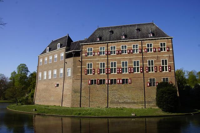 Kasteel Huis Bergh in  's-Heerenberg 19-04-2020