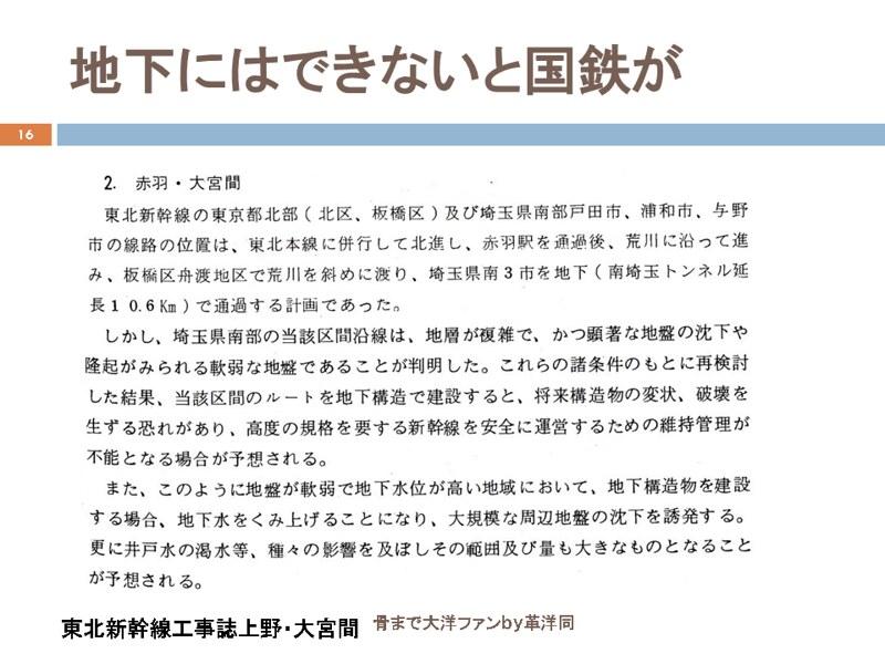 川島令三の上越新幹線新宿ルートの変遷を追う (16)