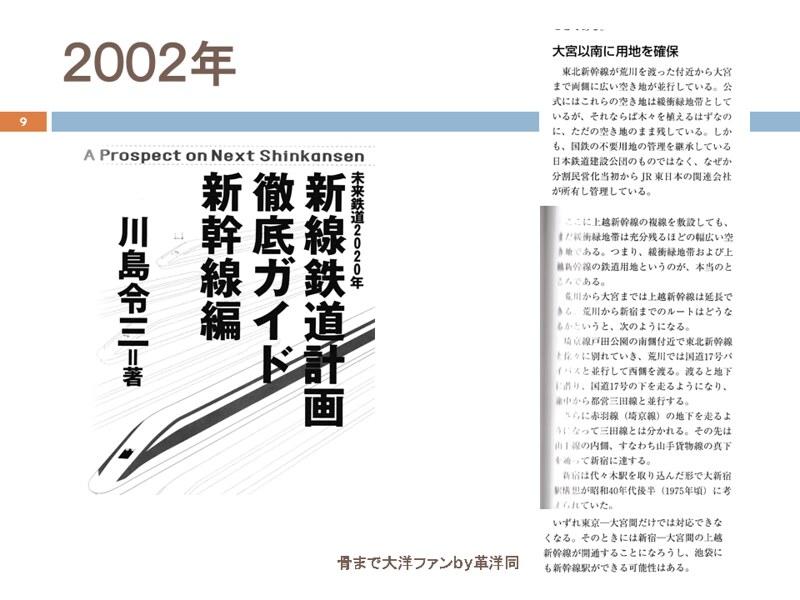 川島令三の上越新幹線新宿ルートの変遷を追う (9)