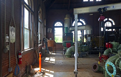 Interior of the Rosedale Pump House