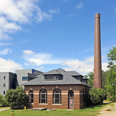 Exterior of the Rosedale Pump House