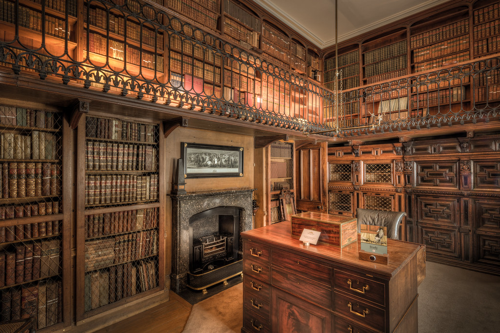 Abbotsford House Study Room