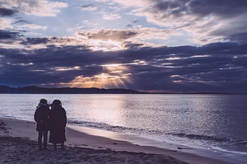 shichirigahama leicaq sunrise kanagawa kamakura japan leica typ116 七里ヶ浜 日の出 日本 神奈川 鎌倉 kamakurashi kanagawaprefecture