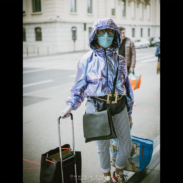 Be Fashion & masked - Quarantine Day #34 in France