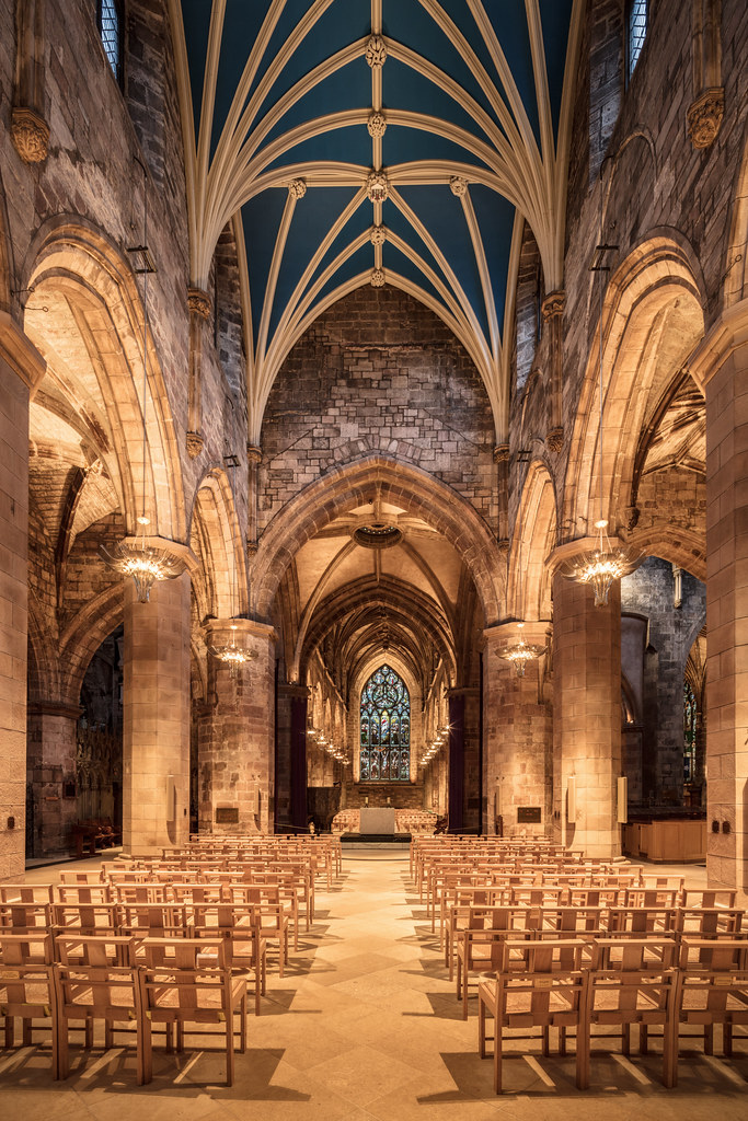 St Giles Cathedral Nave