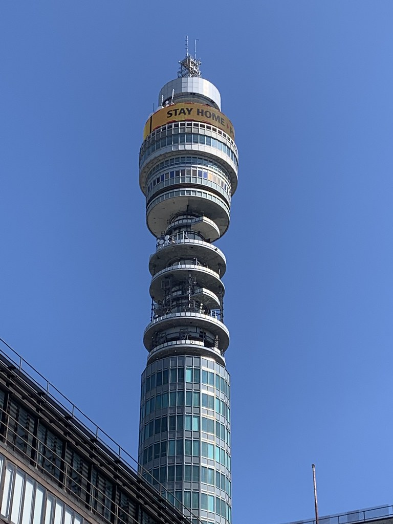 BT Tower - Stay home