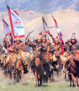 mongol-horde-on-horseback