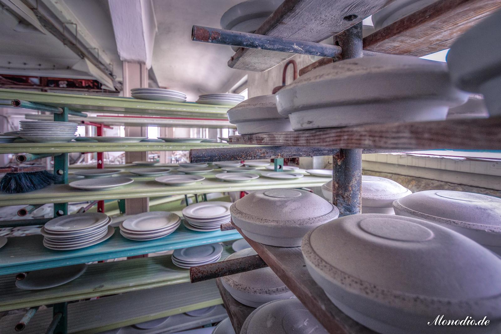 Die verlassene Porzellanmanufaktur