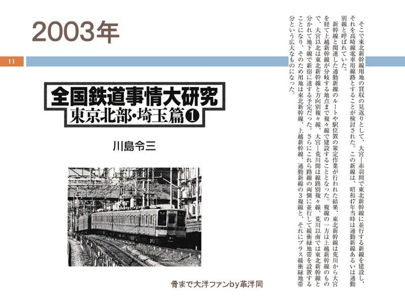 川島令三の上越新幹線新宿ルートの変遷を追う (11)