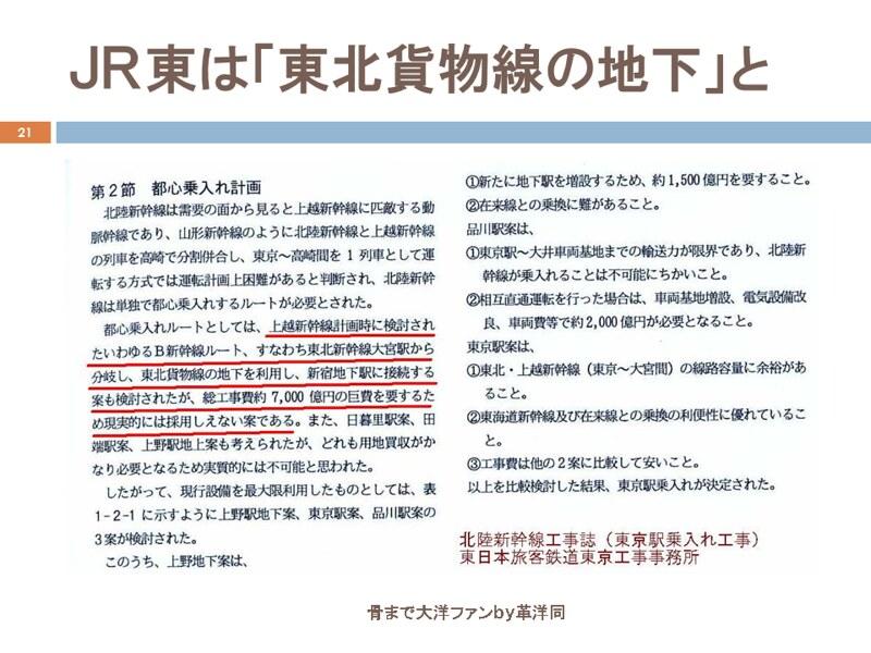 川島令三の上越新幹線新宿ルートの変遷を追う (21)