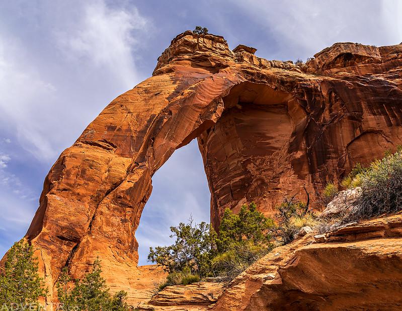 Below Perseverance Arch