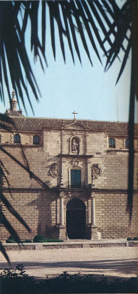 Hospital Tavera en Toledo hacia 1970 fotografiado por Mario Carrieri