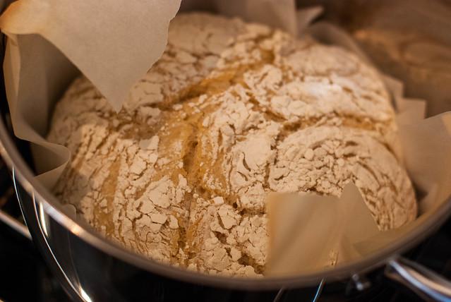 After first bake