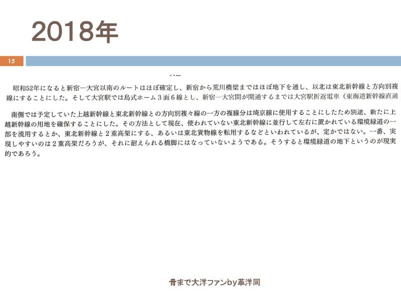 川島令三の上越新幹線新宿ルートの変遷を追う (15)