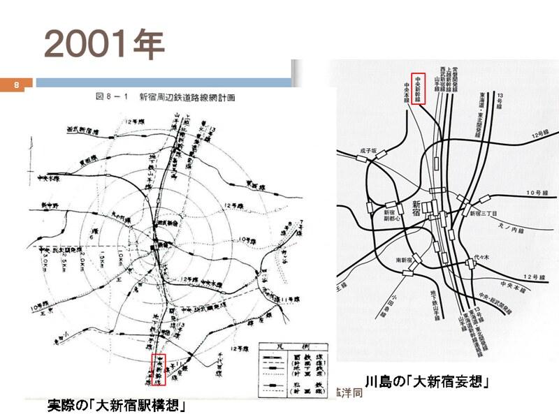 川島令三の上越新幹線新宿ルートの変遷を追う (8)