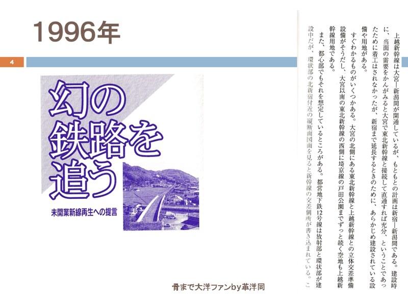 川島令三の上越新幹線新宿ルートの変遷を追う (4)