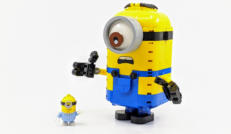Minions construits en briques LEGO