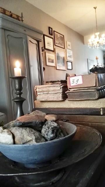 Salontafel decoratie dienblad met boeken