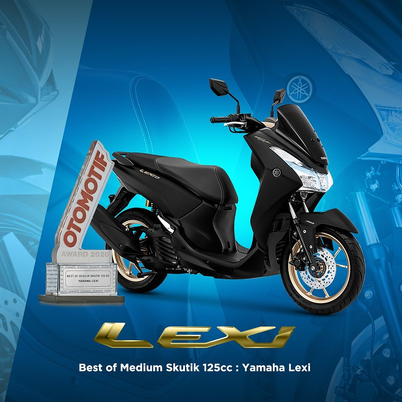 Yamaha Lexi  - Best of Medium Skutik 125cc