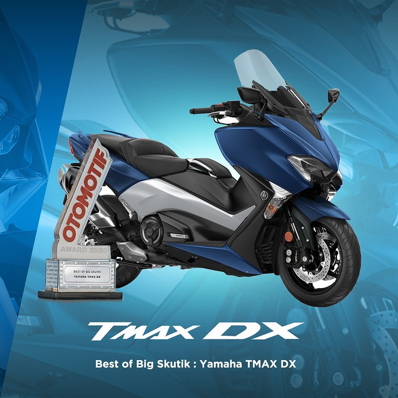 Yamaha TMAX-DX - Best of Big Skutik