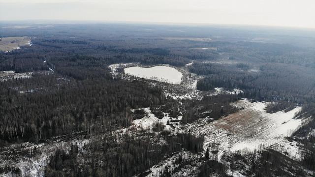 Озеро Костра, февраль 2020