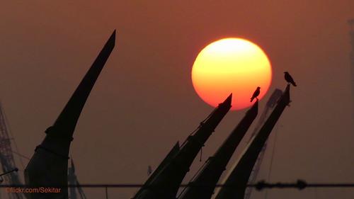 chattogram চট্টগ্রাম chittagong city town bangladesh fishing port work job fisherman sunset