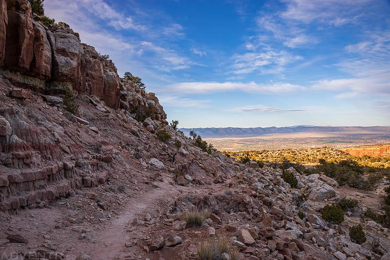 Black Ridge Trail in the Shadows
