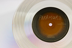 """Paramore, Clear Vinyl 7"""""""