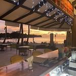 The bar at the Palau Pacific Resort