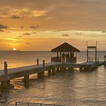 Sunset at the Palau Pacific Resort